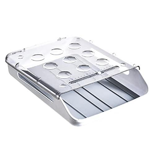 Refrigerador Contenedor de almacenamiento de huevos Cajón de refrigerador Caja fresca Organizador de despensa Ropa almacenamiento de joyas Cocina multiusos Oficina organizador de almacenamiento de de