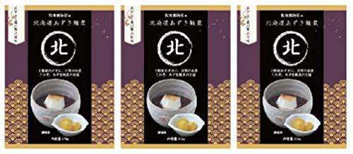 北海道あずき雑煮 『あずきと栗の贅沢甘味』3個セット