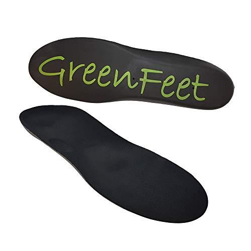 Green-Feet Orthopädische Einlegesohle I 37-38 Schuheinlage bei Senkfuß, Spreizfuß und Fersensporn