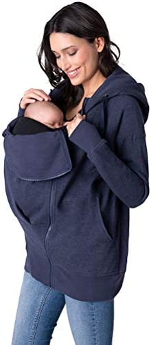 Seraphine Women s Navy Blue 3 in 1 Maternity Hoodie Size Xsmall product image