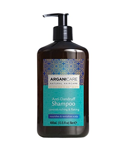 ARGANICARE Champú Anti Caspa Natural Haircare 400 ml