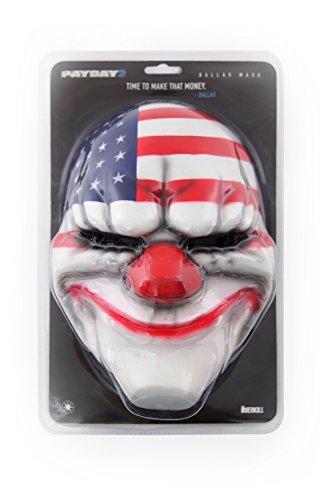 Gaya Entertainment GAYA64.UK.EU01 Payday 2 Face Maske Dallas, Weiß