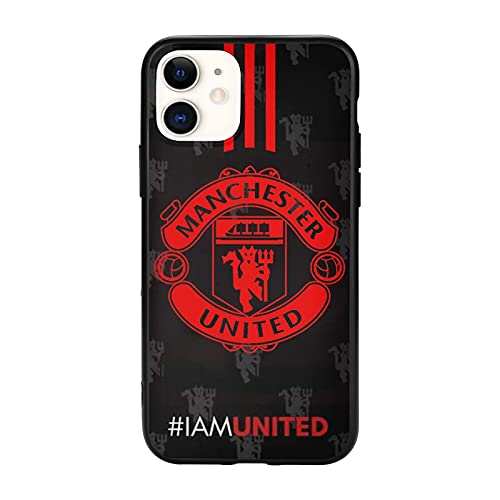 United Manchester Nero Custodie per Telefoni Cover iPhone 12/11 Pro Max 12 mini SE X/XS Max XR 8 7 6 6s Plus Custodie
