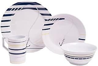 Galleyware Newport Melamine 16 Piece Dinnerware Set