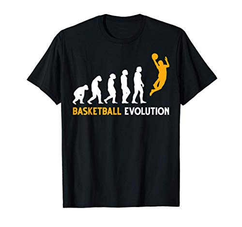 Evolución del baloncesto Camiseta