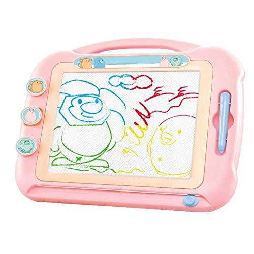 Puzzelgift Groot magnetisch tekentafel Kleur Magnetisch schrijfbord Pen Klein bord Baby Graffiti speelgoed 1-2-3 jaar oud Roze (kleur: lichtgroen, maat: 47 * 37 cm)