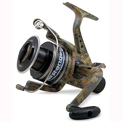 Lineaeffe Mulinello da Pesca Vigor Ranger 6000 con Frizione e Baitrunner da Carp Fishing Feeder Specialist Carpa Barbo Lago Fiume Ideale Anche per Pesca a Spinning per Grandi Predatori