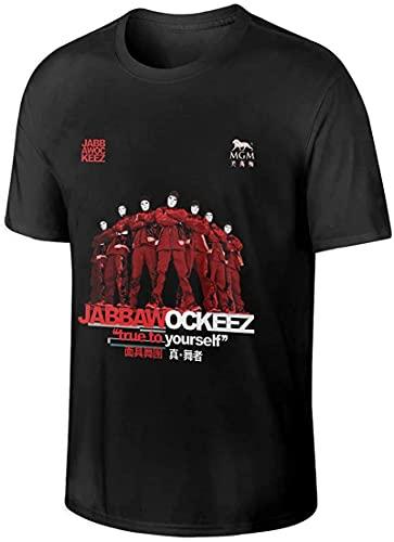 light Saber DUN Jabbawockeez - Camiseta de manga corta para hombre, color negro, Negro, XL