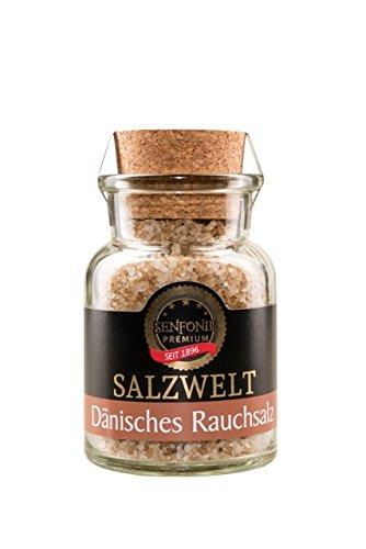 Altenburger Original Senfonie Premium Dänisches Rauchsalz, 180g im Korkenglas, über Buchenholz geräuchertes Meersalz