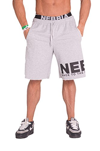 Nebbia Shorts 343 (Grey, XL)
