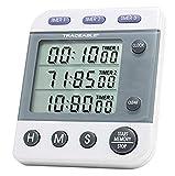 Control Company 5008 Traceable Three-Line Alarm Timer