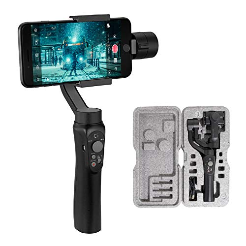 3-Axis Gimbal Stabilizer for Smartphone, Powered by ZHIYUN-Gimbal for iPhone-Android Video Recording...
