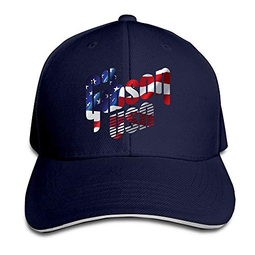 Youaini BOoottty Gibson USA Flag Flex Baseball Cap Black
