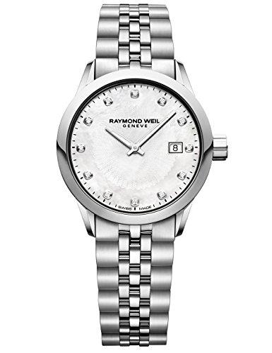 Raymond Weil 5629-ST-97081 Freelancer - Reloj de cuarzo para mujer, color plateado