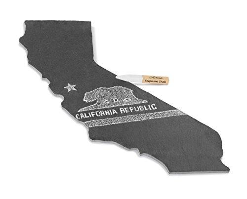 California State (Slate Cheese Board) + Chalk