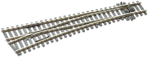 Peco HO Scale Code 100 Electrofrog  6 Left-Hand Turnout by PECO