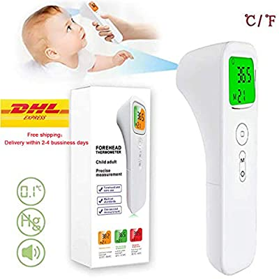 Forehead Thermometer No-Touch Digital Infrared Thermometer,3 in 1 Digital Medical Infrared Thermometer for Baby and Adult?CE and FDA Approved (2)