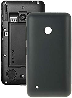 Battery case Jrc Solid Color Plastic Battery Back Cover for Nokia Lumia 530/Rock/M-1018/RM-1020(Black) Mobile phone access...