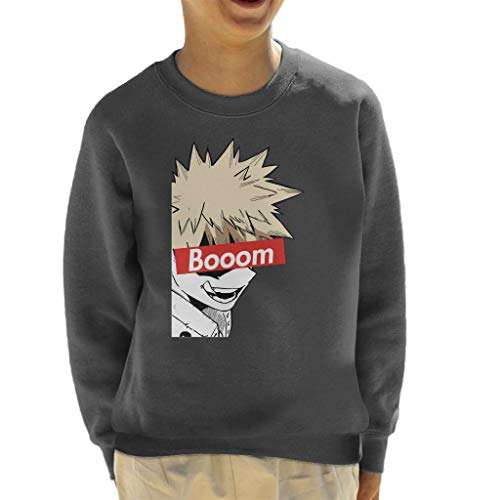 Cloud City 7 Bakugou Boom Skate Brand My Hero Academia Kid's Sweatshirt