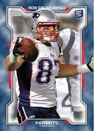 2010 Topps Gridiron Rookie of the Week 10 Rob Gronkowski RC New England Patriots Limited Edition product image