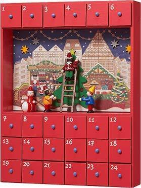 カルディコーヒー『ウッドボックスカレンダー2019クリスマスマーケット』