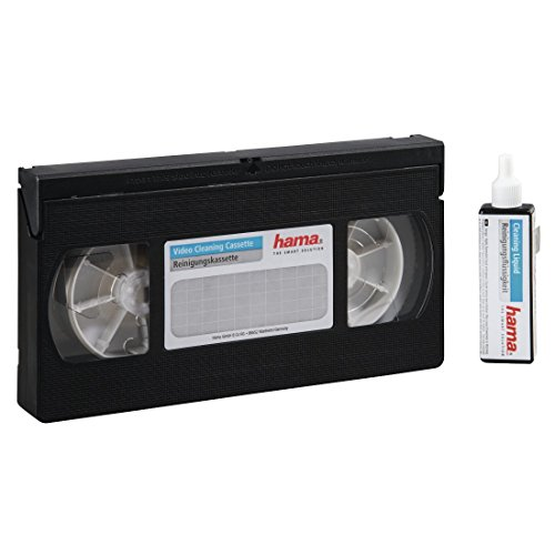 Hama VHS/S-VHS Video Cleaning Tape - Cinta de Limpieza
