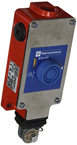 Schneider XY2CH13290 Seilzug-Notschalter für Seillängen bis Max. Kappe 30M 2NC 1No