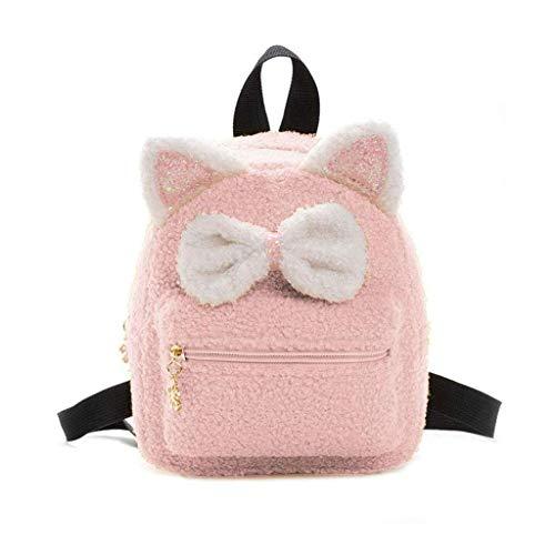 XXSHN Mochila para niños Portador de Bolsa de muñeca para muñeca Mochila de Bolsa de Almacenamiento portátil para niña