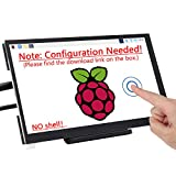Freenove 7 Inch Touch Screen for Raspberry Pi (Configuration Needed, No Shell), 1024x600 Pixel IPS Monitor, HDMI Display, 5-Point Touch Capacitive Screen, Adjustable Holder