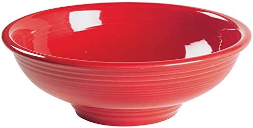 Pedestal Serving Bowl Color Scarlet product image