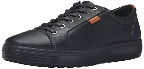 Ecco Herren Soft 7 Low-Top, Schwarz (51707black/black), 45 EU