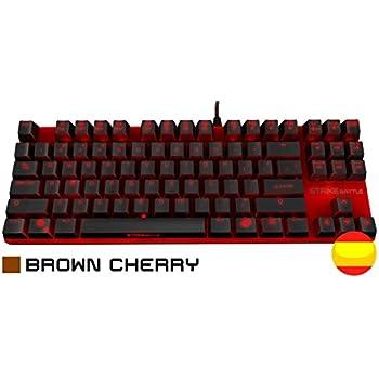 Ozone OZSTRIKEBATTLERSPBN Teclado Gaming Color Negro y Rojo