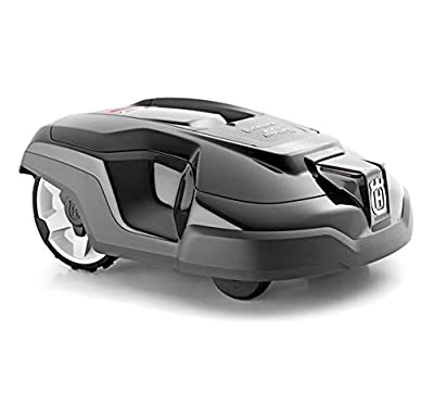 HEN'GMF Upgraded Version Robotic Lawn Mower, Battery Powered Mower-9.5-inch Mowing Smart Robot Lawn Mower, Suitable for Yards Up to 1500m².