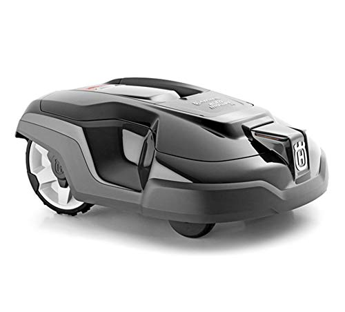 AHELT-J Robotic Lawn Mower, Battery Powered Mower-9.5-inch Mowing Smart Robot Lawn Mower, Suitable for Yards Up to 1500m².