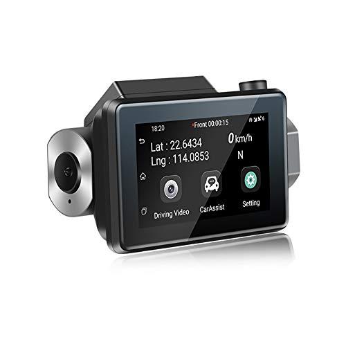 XXOOXUE Dash CAM, 1080P HD Coche CáMara DVR 3G Mini WiFi Oculta Grabadora De ConduccióN 140 ° Gran Angular Ultra Clara VisióN Nocturna GrabacióN De Bucle InduccióN De ColisióN