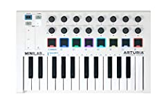 Portable and Compact - MIDI Controller The most responsive keyboard experience in its category 500 of the V-Collection 8 presets / 21 Keyboard Instruments and Synthesizers / fully mapped right out of the box The perfect solution to get started with m...