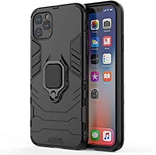 Iphone 11 pro Case, Iron man with Ring Holder - Black