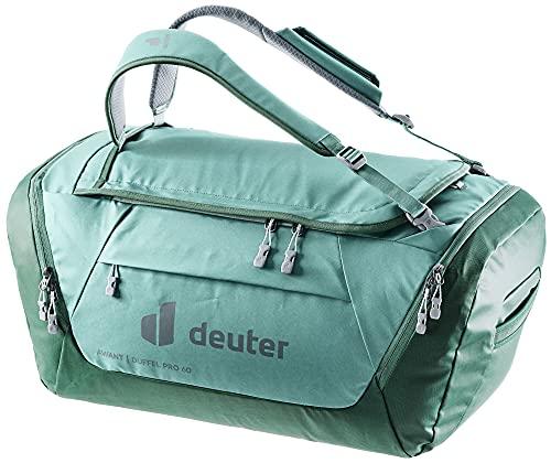 Deuter AViANT Duffel PRO 60, Borsa Sportiva Unisex-Adult, Jade-Seagreen, 60 L