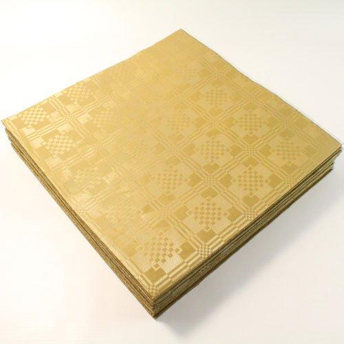 Salida Thali–25x papel de oro fizzco–Mantel de mesa desechable hojas 90x 88cm bodas cumpleaños fiestas ocasiones especiales