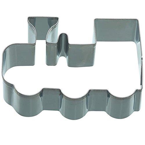 KitchenCraft Train Cookie Cutter, Stainless Steel, 9 x 6.5 x 2.5 cm