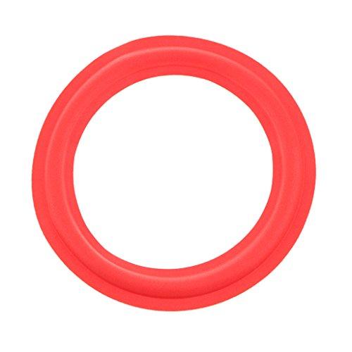 IPOTCH Borde de Espuma para Altavoz Woofer Kit para Reparar - Rojo 8pulgadas