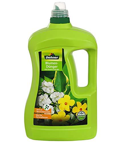 Dehner Blumendünger mit Guanoextrakt, flüssig, 3 l, für ca. 450 l