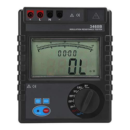 ETCR‑3460B Insulation Resistance Tester, Digital Insulation Resistance Tester Digital Megohmmeter Digital Resistance Meter Resistance Meter 1MΩ~400GΩ