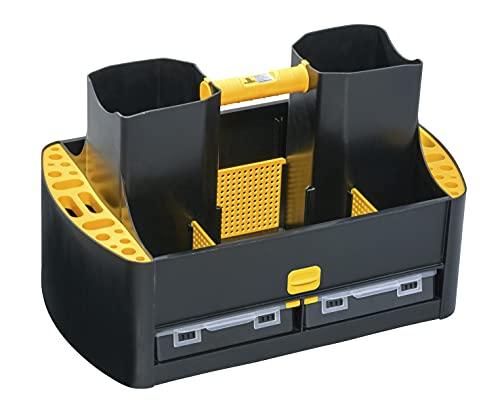 Allit 457285 McPlus Workman 19/62 Tragekasten, Werkzeugkasten leer, Sortierkasten tragbar