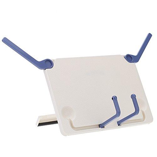 Andoer® Sujetalibros Atril Pie Bookholder Marco Portable