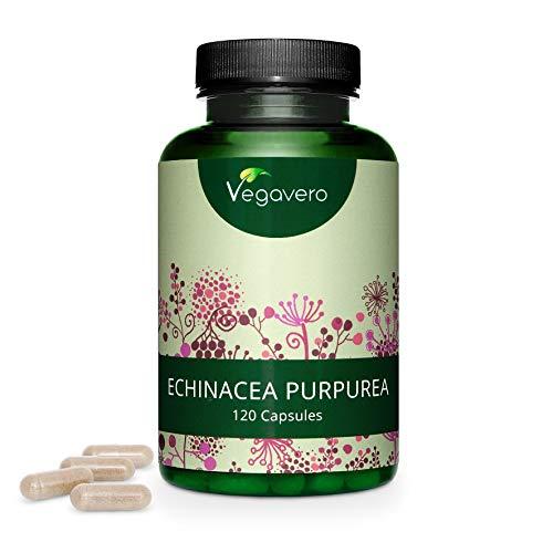 ECHINACEA Vegavero® | 6000 mg | L'UNICA con il 4% di POLIFENOLI | 120 capsule | Difese Immunitarie | Vegan