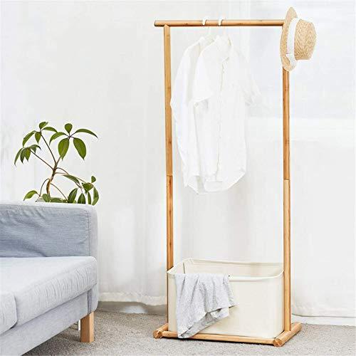TEET Perchero para ropa, multiuso, paralelo, para guardar zapatos, para casa, oficina, interior (tamaño: tamaño libre; color: blanco roto)