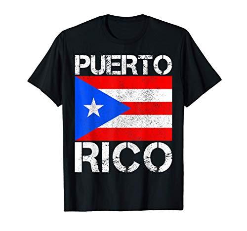 Puerto Rico Pride Flag Patriotic Puerto Rican Pride Gift T-Shirt