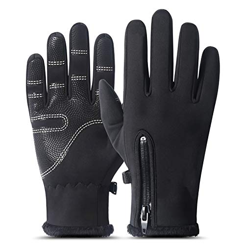 Touch Screen Gloves,Cycling Gloves Waterproof Windproof Thermal Sports Winter Warm Gloves Running, Daily Use, Work, Ski, Cycling,For men and Women