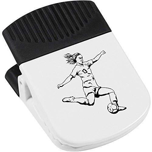 Azeeda 'Fußballspieler' Magnetischer Clip (CP00021976)